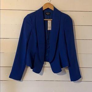 Royal blue Bebe blazer slim fit